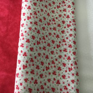 red fabric bundle